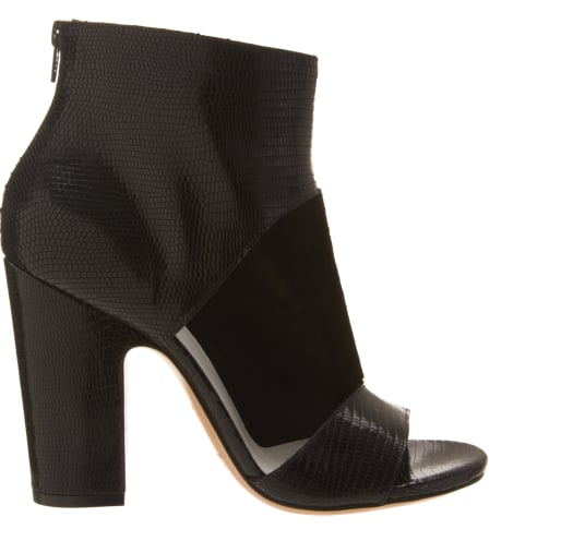 When it comes to the perfect sandal boot, look no further than these Maison Martin Margiela Cutout Sandal Booties ($920), which will go with everything.