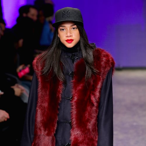 DKNY Fall 2014 New York Fashion Week Beauty