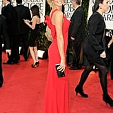 Stacy Keibler in Valentino.