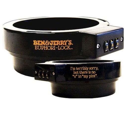 Ben & Jerry's Ice Cream Lock ($23)