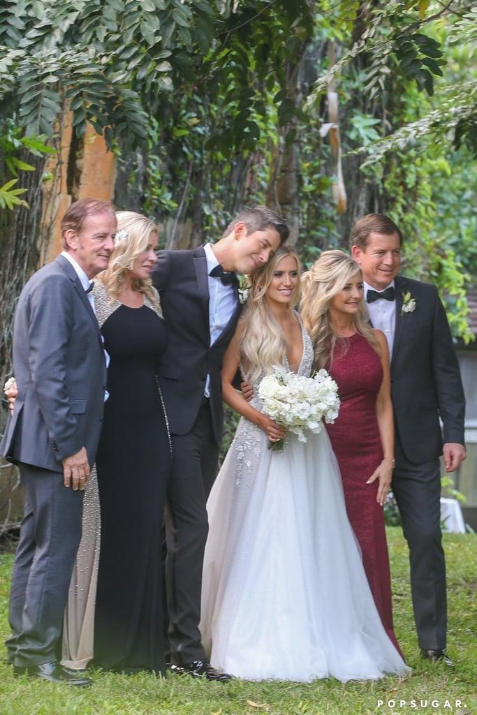 Lauren Burnham's Hayley Paige Wedding Gown
