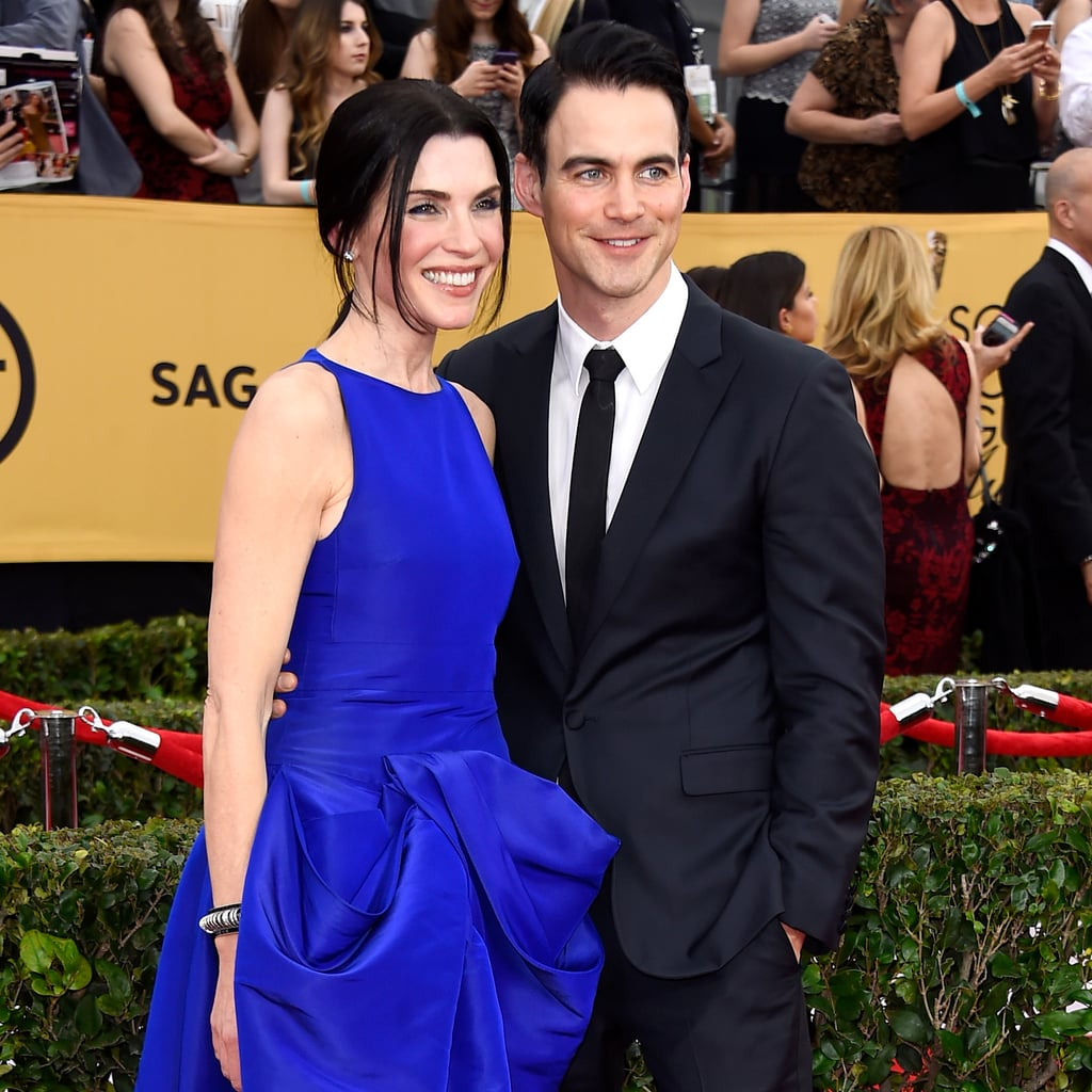 Stars Coupled Up on the SAG Awards Red Carpet