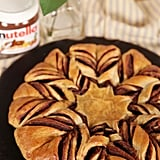 Braided Nutella Croissant Bread