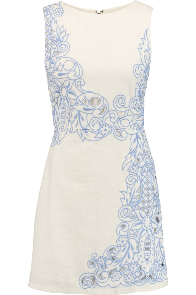 Alice + Olivia Malin Cotton Mini Dress