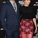 Joshua Jackson and Diane Kruger were all smiles on the red carpet at the NHL Awards.