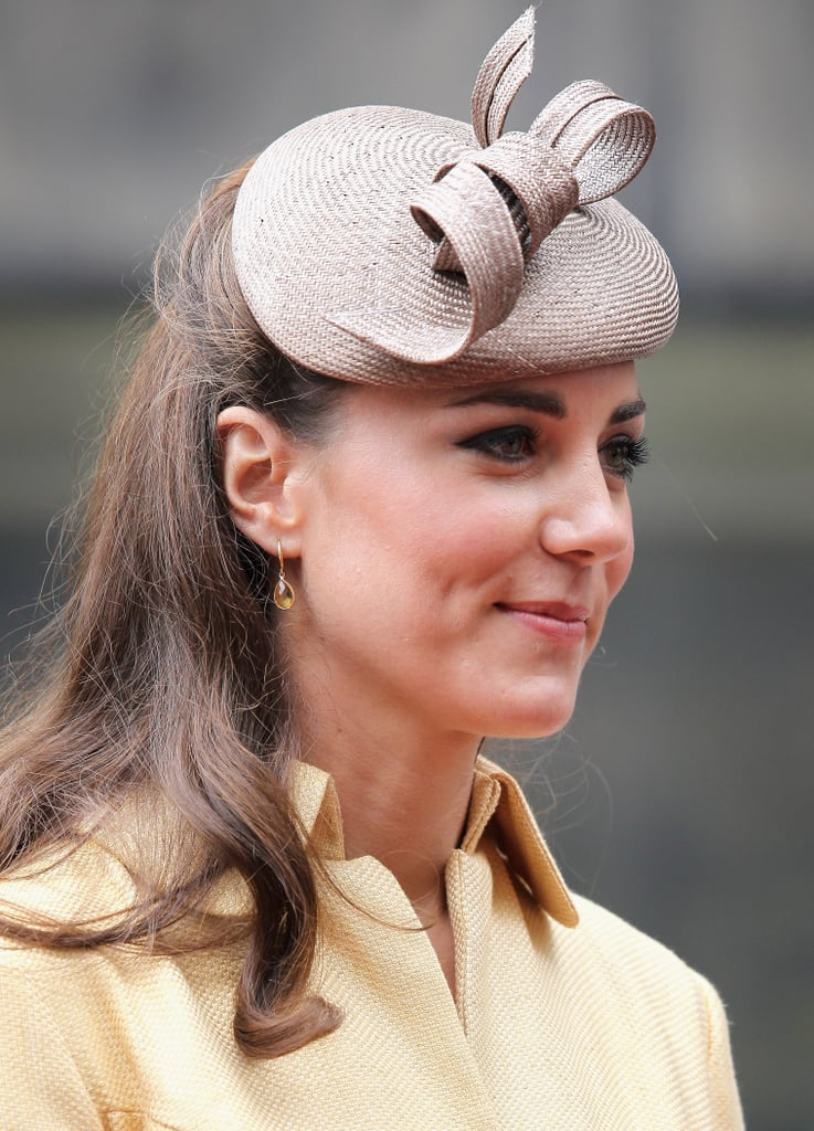 Kate Middleton watched Prince William at the Thistle Ceremony in Scotland.