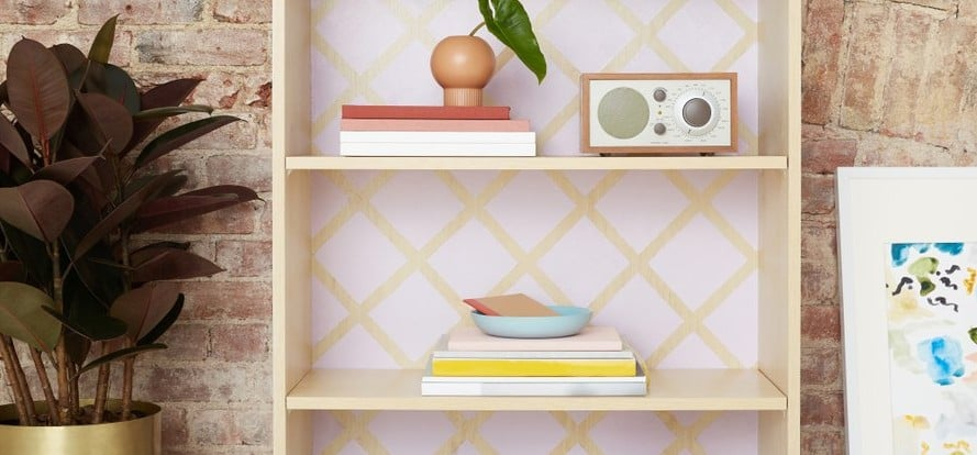 Painted Bookcase DIY