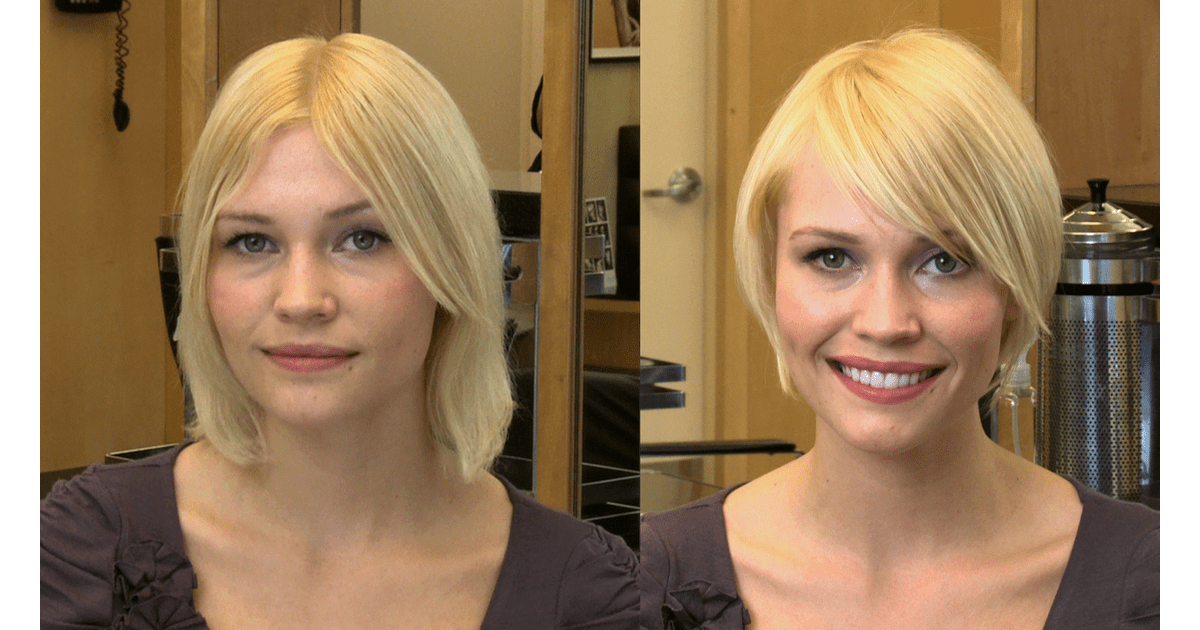 Hairstyles For a Square Face Shape | POPSUGAR Beauty