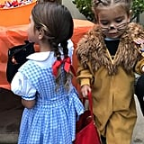 Kourtney Kardashian's Kids Dressed Up as Characters From The Wizard of Oz