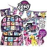 My Little Pony Showbag ($28) Includes:  Scratch art pack   DIY bunting kit  Glitter tattoo book