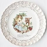 """Jane Austen Face"" Plate"
