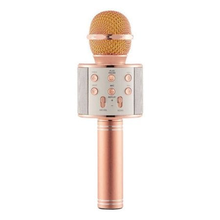 Wireless Bluetooth Karaoke Microphone