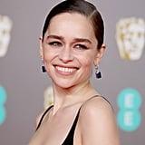Emilia Clarke's Subtle Smoky Eyes at the 2020 BAFTA Awards