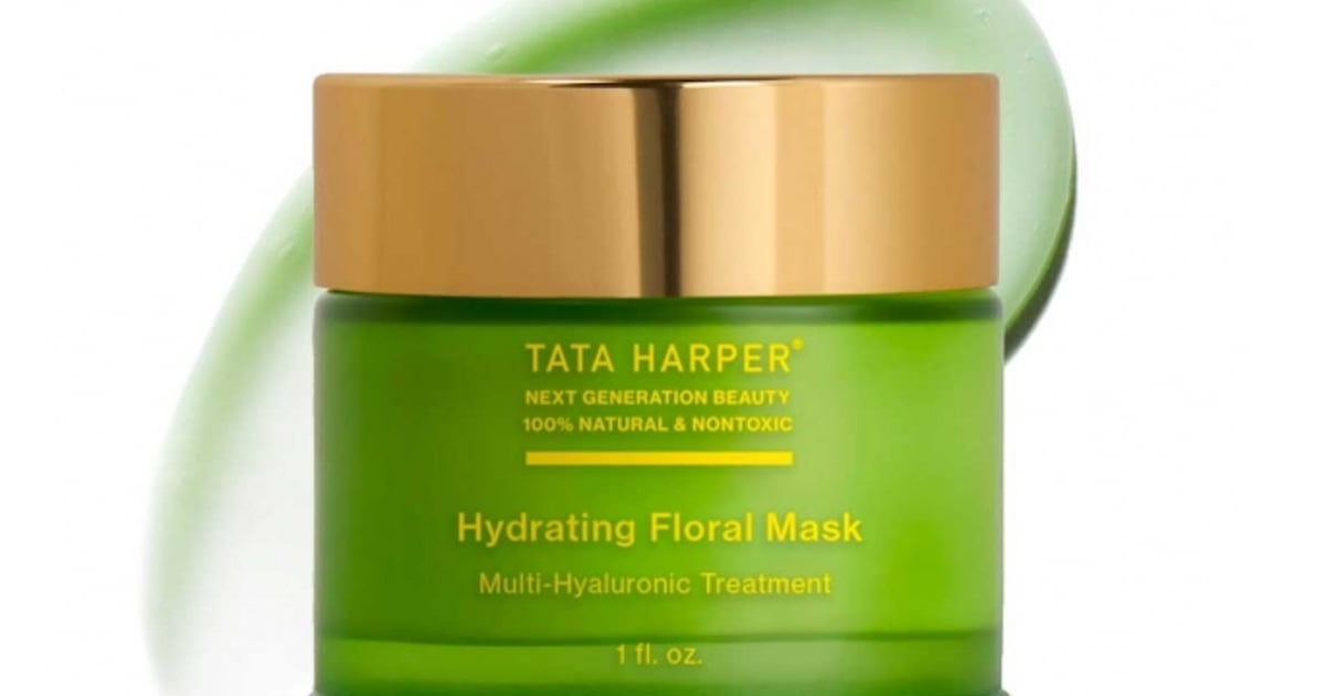 Tata Harper's Hydrating Floral Mask Left My Dry Skin Feeling Super Soft and Fresh