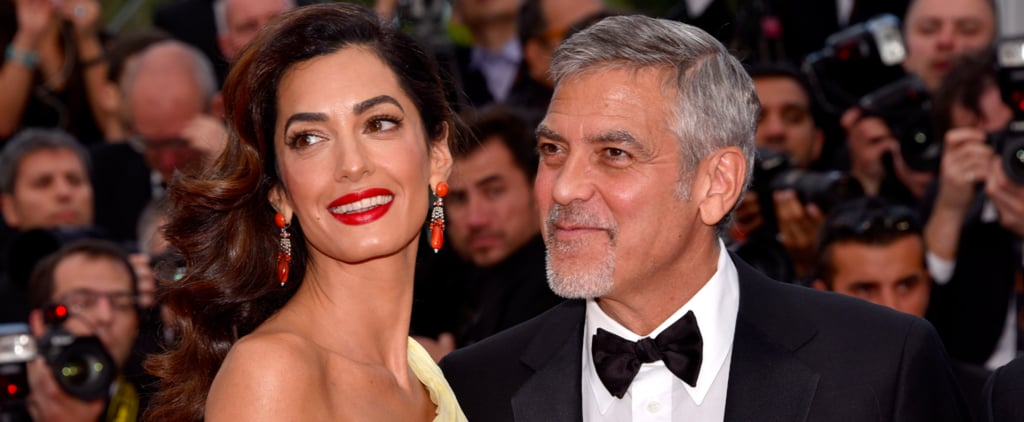 George Clooney Hits the Red Carpet With Amal and Cracks Up With Julia Roberts