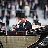 Queen Elizabeth II and Prince Harry, 2016