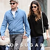 Lily Aldridge and Caleb Followill kept close in NYC.