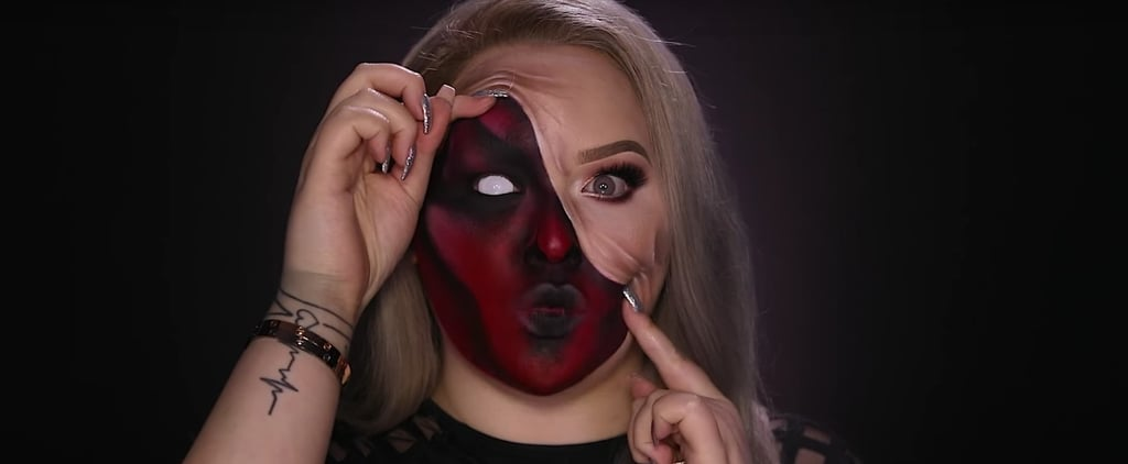 Reveal Your Evil Side With This Demonic Makeup Look on Halloween