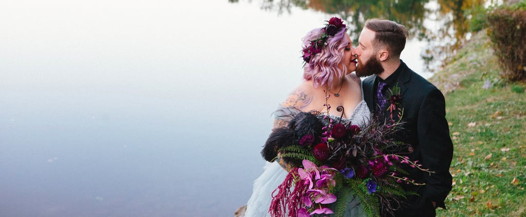 This Gorgeous Halloween Wedding Was Inspired by Disney's Haunted Mansion!