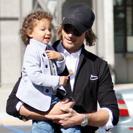 Pictures of Gabriel Aubry and Nahla at Zoo After Custody Battle