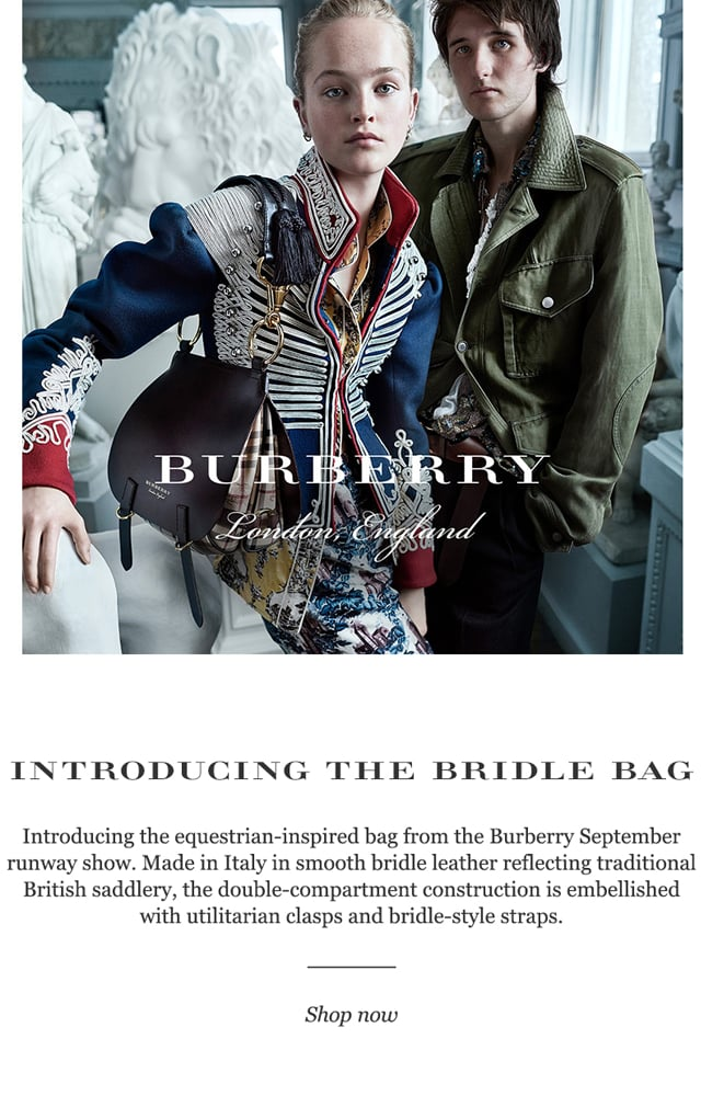 Burberry Introduces the Bridle Bag