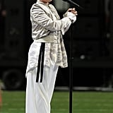 Pink's Super Bowl Outfit 2018