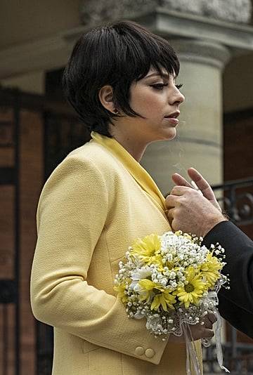See Liza Minnelli's Yellow Wedding Suit Designed by Halston