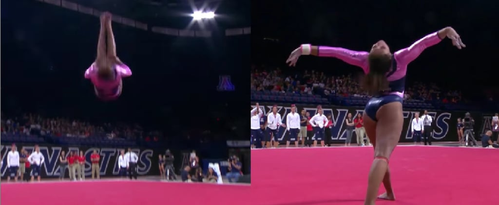 Collegiate Gymnastics Floor Routine to Beyoncé and Drake