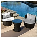 Kono Wicker Patio Chat Set