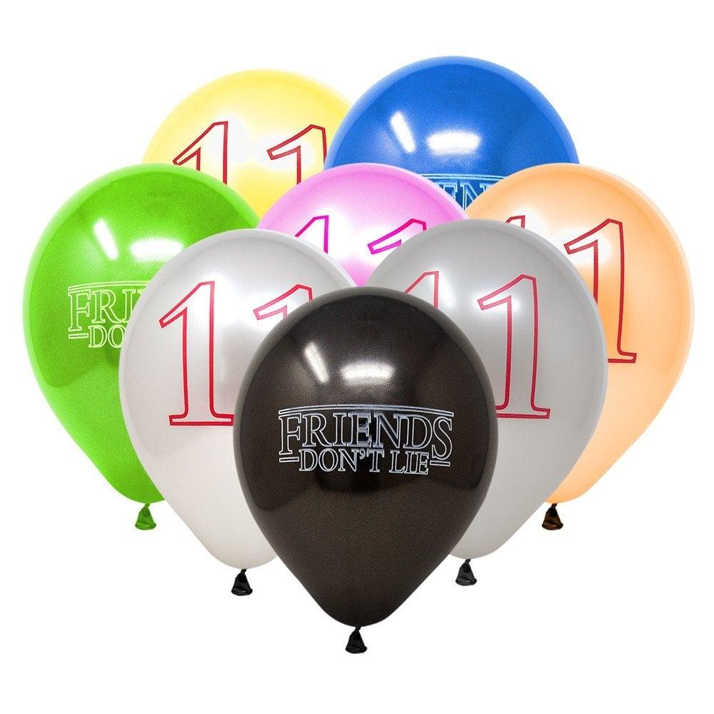 Stranger Things Latex Balloons