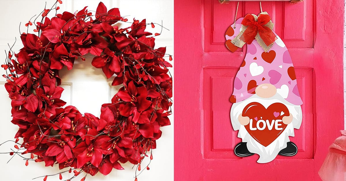 "Everyone Will Give Your Home ""the Eye"" Once They See These 30 Valentine's Day Door Decorations thumbnail"
