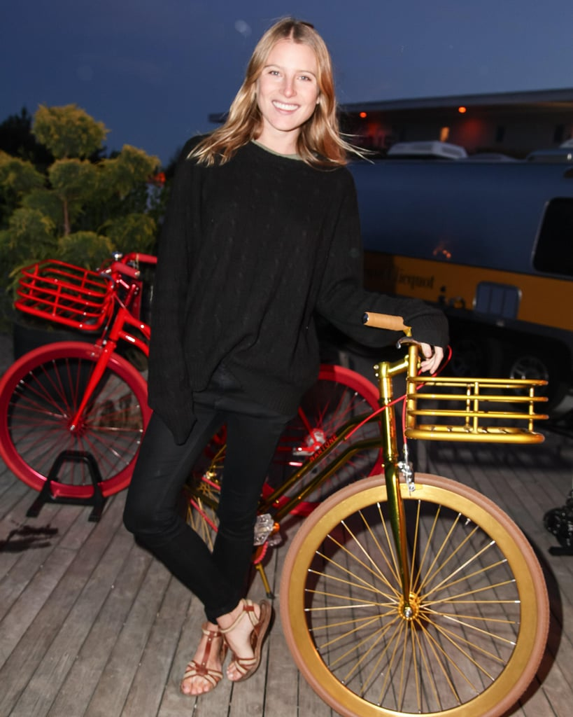 Dree Hemingway at a private dinner for Martone Cycling in Montauk, New York. Source: Matteo Prandoni/BFAnyc.com