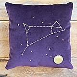 Aries Star Sign Pillow ($98)