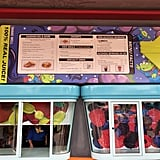 Woody's Lunch Box menu and order windows.