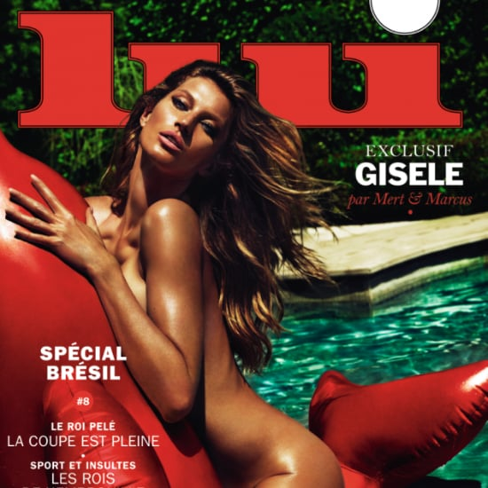 Gisele Bundchen Nude on Lui Magazine Cover May 2014