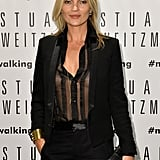 Kate Moss Celebrates Shoes Before Becoming a Centerfold