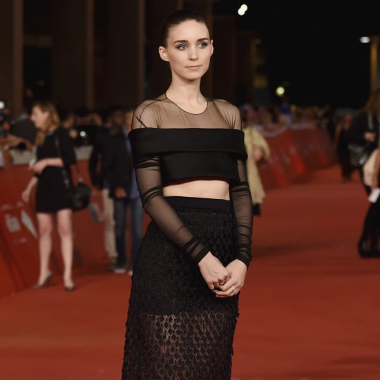 Rooney Mara's Balenciaga Dress at Trash Premiere