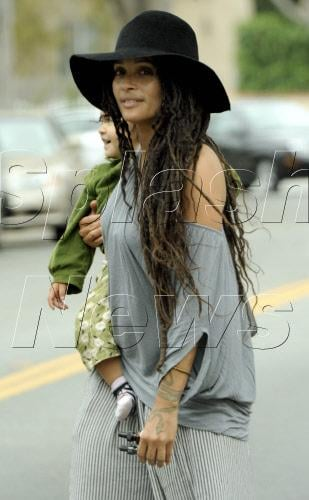 Lisa Bonet from the Cosby Show and her beautiful kids
