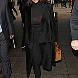 Only Kim Kardashian Could Make a Turtleneck Look This Sexy