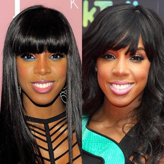 Kelly Rowland's Bottom Eyeliner Look 2011-08-17 10:25:00