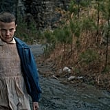 Does Eleven's mom know about what happened?