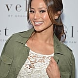 Jamie Chung attended a store opening in California earlier this week donning a low-slung ponytail with soft tendrils framing her face. A touch of dark liner on her eyes brought it all together.