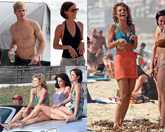 Photos of 90210 Filming in LA