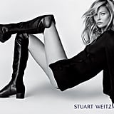 Gigi Hadid and Kate Moss Stuart Weitzman Campaign