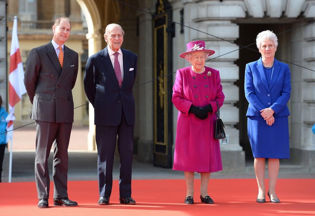 Queen Elizabeth II at 2017 Commonwealth Day