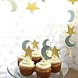Stars and Moons Cupcake and Treat Toppers