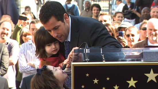 Video of Adam Sandler's Star Ceremony and Jennifer Aniston on Conan