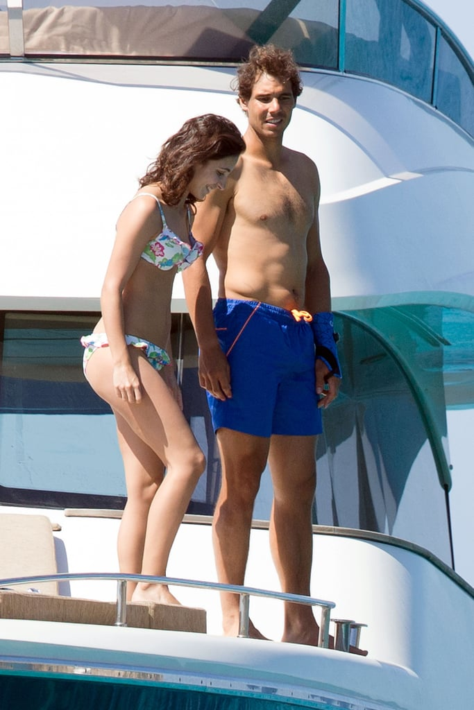 Rafael Nadal And His Girlfriend In Ibiza Spain June 2016