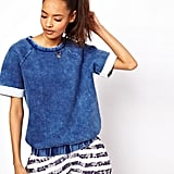 Miss the acid wash on your jeans? We won't judge — satisfy your nostalgia with this ASOS Sweatshirt With Acid Wash ($79).