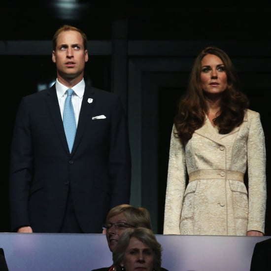 Kate Middleton and Prince William Pictures at 2012 Paralympics Opening Ceremony
